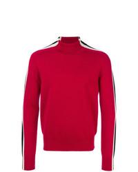 Jersey de cuello alto rojo de DSQUARED2
