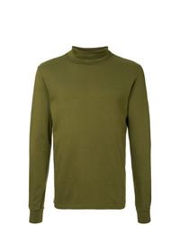 Jersey de cuello alto verde oliva de Attachment