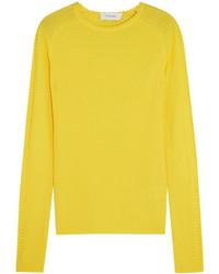Jersey de lana amarillo de Carven