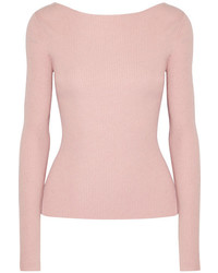 Jersey de lana de punto rosado de Elizabeth and James