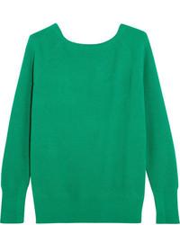 Jersey de lana de punto verde de Maje