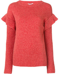 Jersey de lana rojo de Agnona