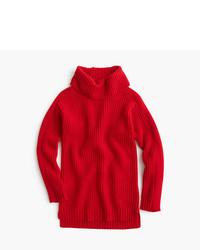 Jersey de lana rojo de J.Crew