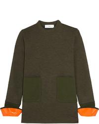 Jersey de lana verde oliva de Toga