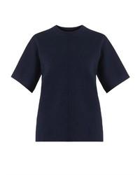 Jersey de manga corta azul marino