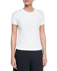 Jersey de manga corta blanco