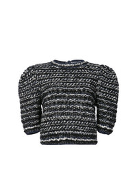 Jersey de manga corta en gris oscuro de Adam Lippes