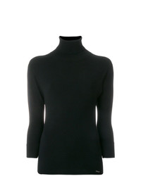 Jersey de manga corta negro de Dsquared2