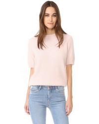 Jersey de manga corta rosado de Anine Bing