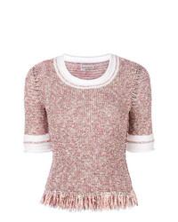 Jersey de manga corta rosado de Sonia Rykiel
