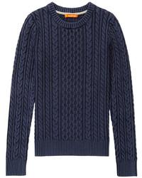 Jersey de ochos azul marino
