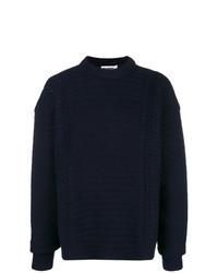 Jersey de ochos azul marino de Jil Sander