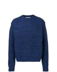 Jersey de ochos azul marino de MSGM