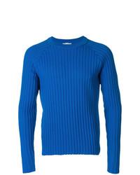 Jersey de ochos azul de AMI Alexandre Mattiussi