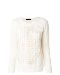 Jersey de ochos blanco de Fabiana Filippi