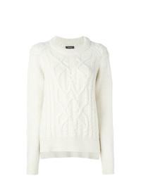 Jersey de ochos blanco de Isabel Marant