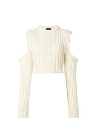 Jersey de ochos en beige de Calvin Klein 205W39nyc