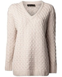 Jersey de ochos en beige de The Row
