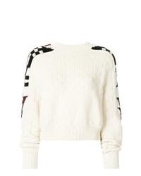 Jersey de ochos en blanco y negro de Isabel Marant