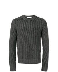 Jersey de ochos en gris oscuro de Helmut Lang
