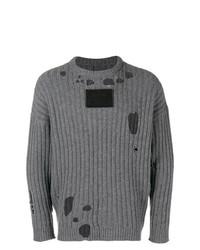 Jersey de ochos gris de A-Cold-Wall*