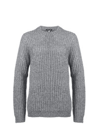Jersey de ochos gris de Alex Mill