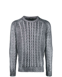 Jersey de ochos gris de Avant Toi
