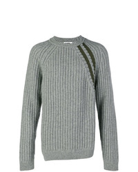 Jersey de ochos gris de Jil Sander