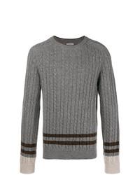 Jersey de ochos gris de Lanvin