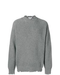 Jersey de ochos gris de MSGM