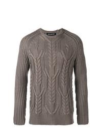 Jersey de ochos gris de Neil Barrett