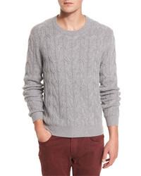 Jersey de ochos gris de Neiman Marcus