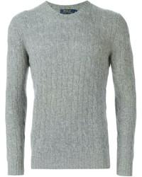 Jersey de ochos gris de Polo Ralph Lauren