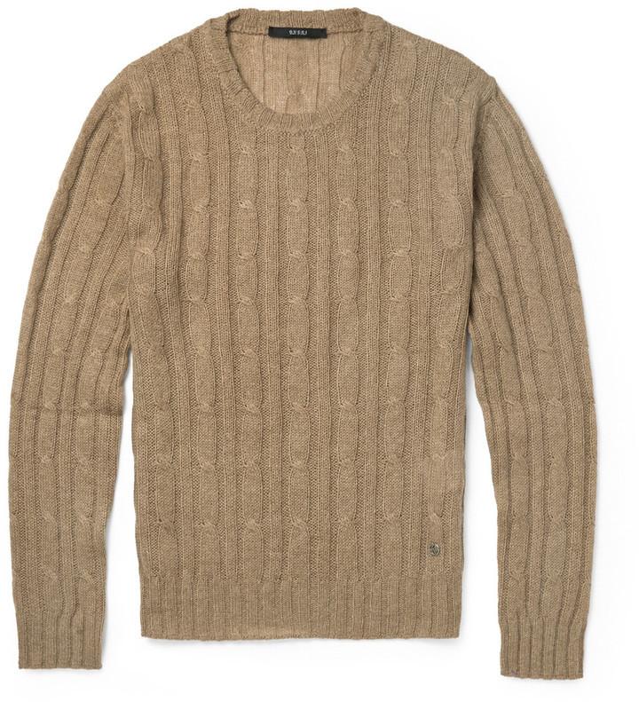 Jersey de ochos marrón de Gucci  dónde comprar y cómo combinar 949ac0a16c8