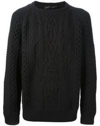 Jersey de ochos negro