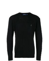 Jersey de ochos negro de Polo Ralph Lauren