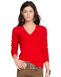 Jersey de ochos rojo
