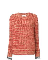 Jersey de ochos rojo de Marni