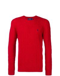 Jersey de ochos rojo de Polo Ralph Lauren