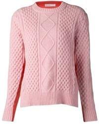 Jersey de ochos rosado de Sacai