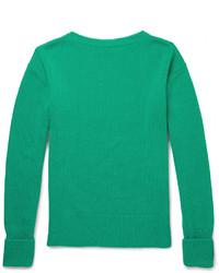Jersey de ochos verde de Burberry