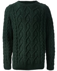 Jersey de ochos verde de Maison Martin Margiela