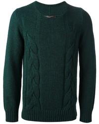 Jersey de ochos verde de Messagerie