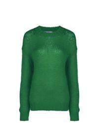 Jersey de ochos verde de Prada
