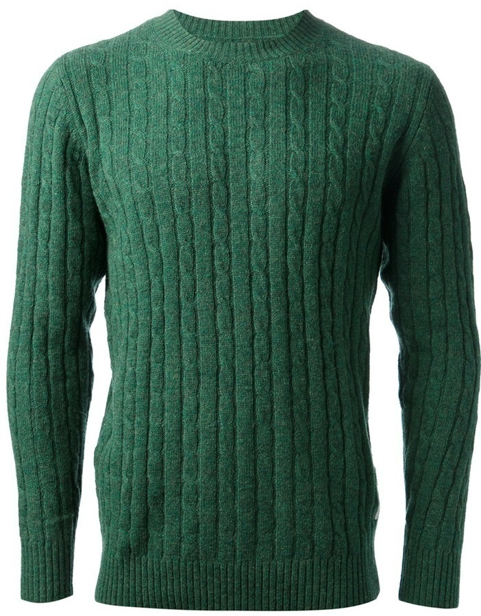 Jersey de ochos verde de Wood Wood