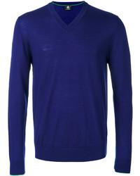 Jersey de pico azul marino de Paul Smith