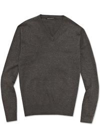Jersey de pico en gris oscuro
