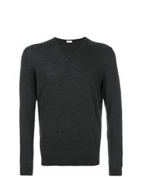 Jersey de pico en gris oscuro de Fashion Clinic Timeless