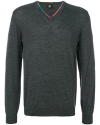 Jersey de pico en gris oscuro de Paul Smith