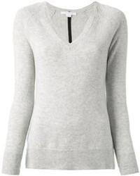 Jersey de pico gris